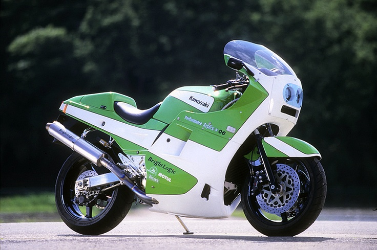 Kawasaki GPZ900R with GODIER GENOUD fairing by Bright Logic