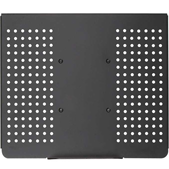 Wali Laptop Holder Tray For 1 Notebook Up To 17 Inch Mount Compatible With Vesa 100 Mm 22 Lbs Capacity With V Laptop Cooling Stand Laptop Tray Tv Accessories