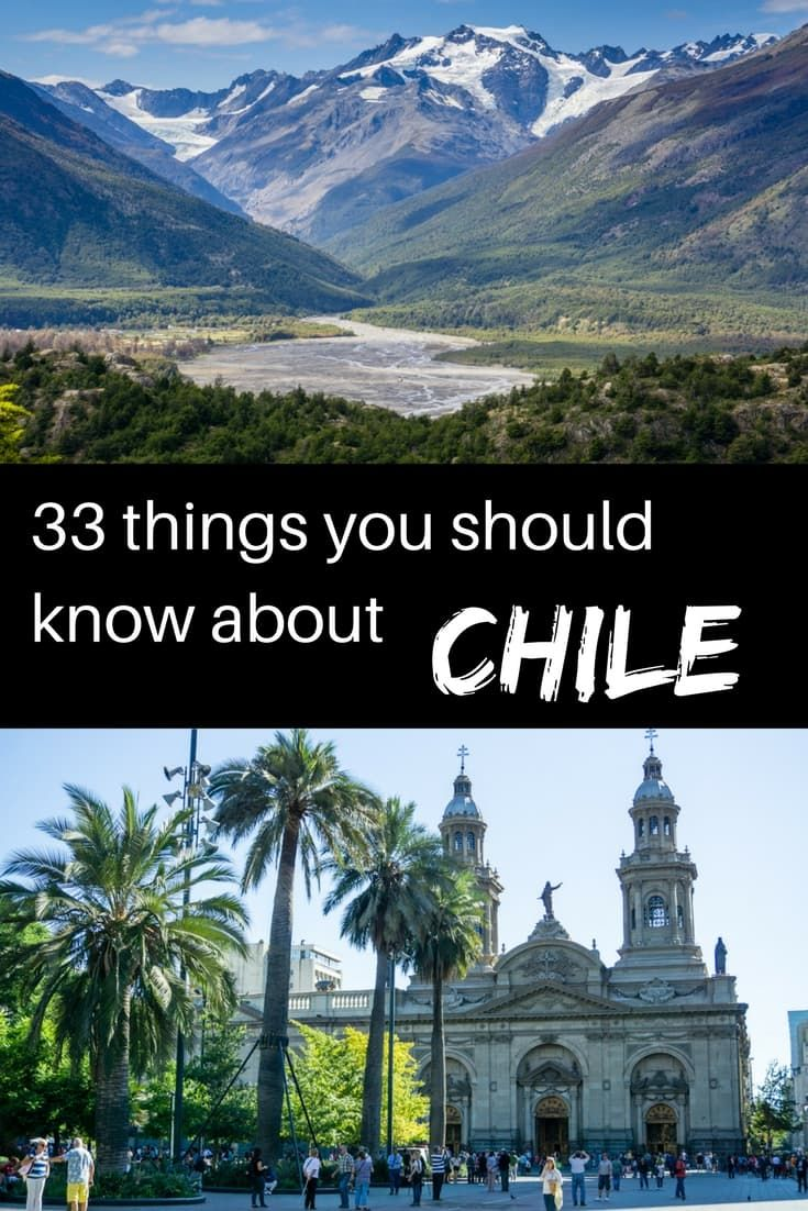 Read our list of interesting facts about Chile. Chile is a land of complete opposites.| Interesting facts about Chile | Chile facts | things to know about Chile| Things to do in Chile| Chilean Patagonia | What to see in Chile | Chile culture | Chile history | Chilean nature #chile #chilefacts #tbin