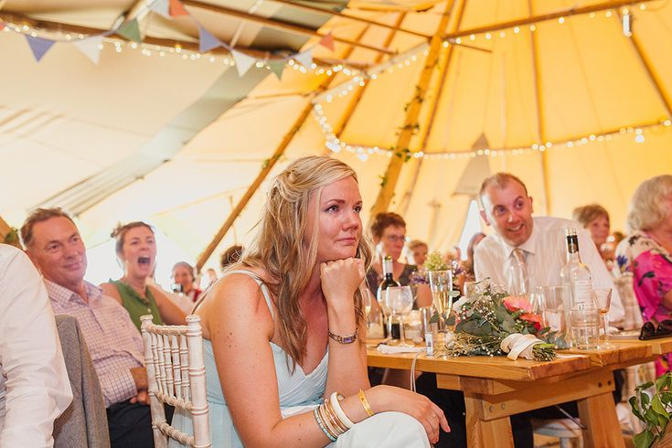 A Glastonbury Themed Tipi Wedding in Derbyshire with a Humanist Handfasting ceremony by Paul Joseph Photography - www.pauljosephphotography.co.uk