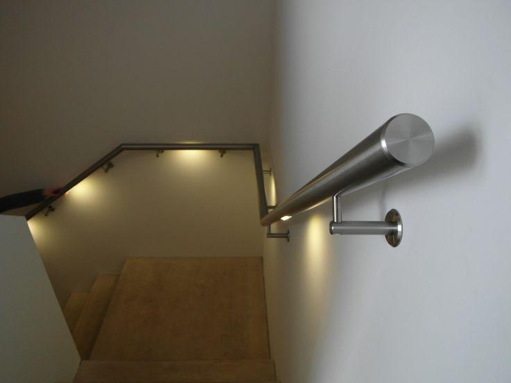 De 46 bästa Trapleuningen met LED verlichting-bilderna på Pinterest ...