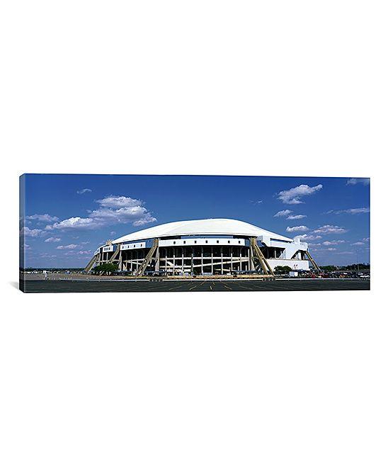 Texas Stadium Wrapped Canvas