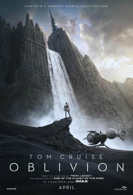 Trailer OBLIVION, pe lista filmelor de văzut în 2013