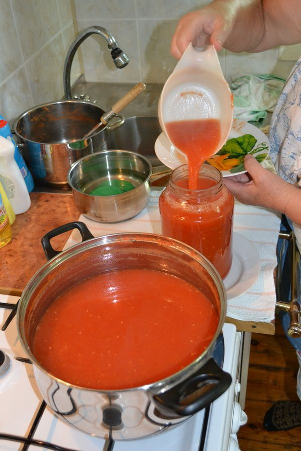 Самый вкусный томатный сок на зиму