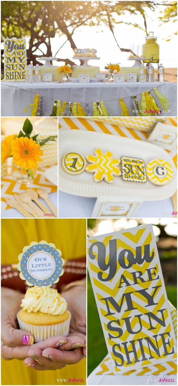 sunshine baby showers little sunshine baby shower