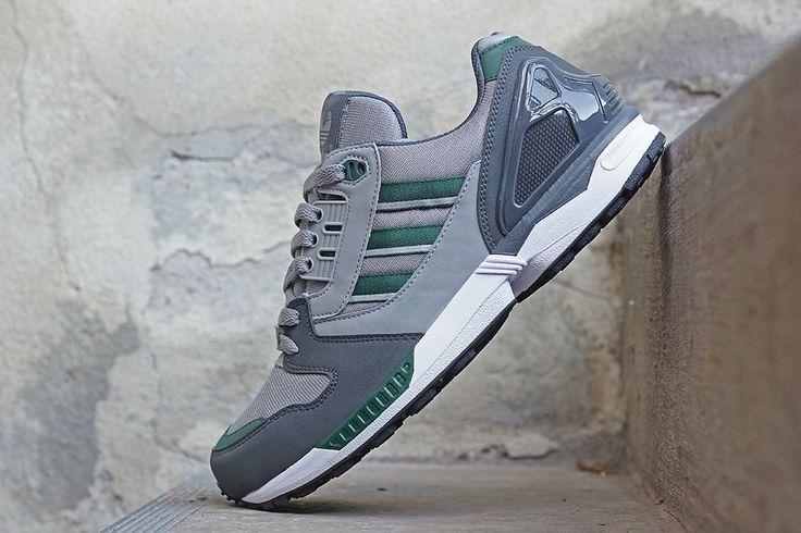 "adidas ZX 8000 ""Grey & Collegiate Green"""