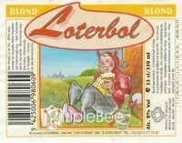 Label van Loterbol Blond