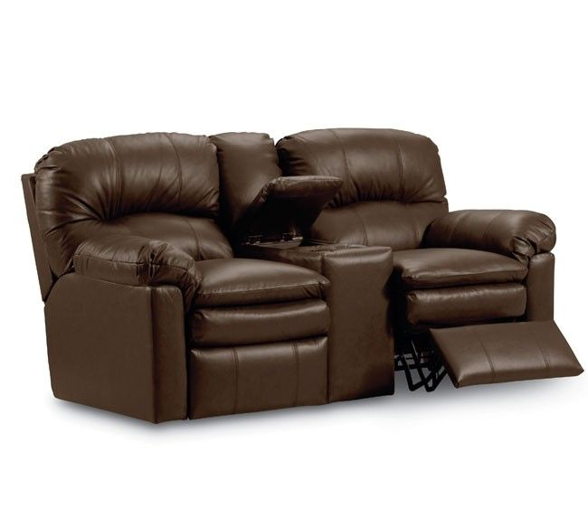Lane Furniture - Touchdown Double Reclining Console Loveseat -292-43
