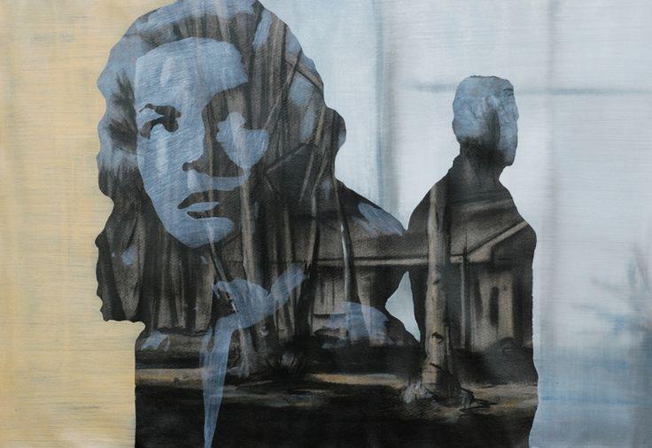 "Saatchi Online Artist: Tom Keevill; Oil, 2011, Painting ""Sault Sainte Marie"""