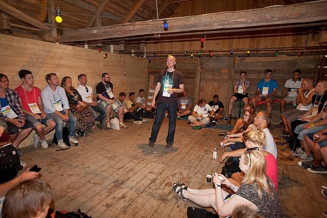 Start-up session. Hur får man pengar? Bra knep och tips från grundaren av Fyndiq.  #sswc