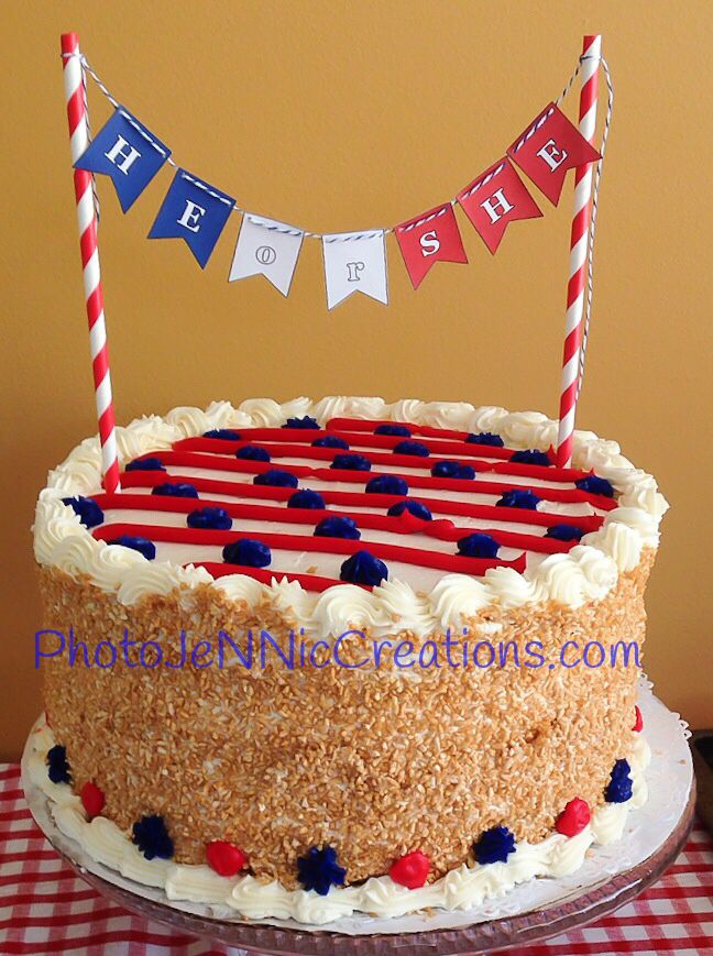4th of july baby birthday