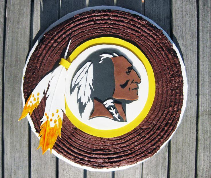 washington redskins CAKE | Washington Redskins Cake