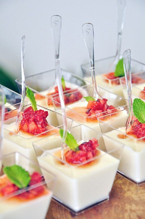Creme Fraiche Panna Cotta with Macerated Berries – Creative Culinary Group – Simi Seaman Photography
