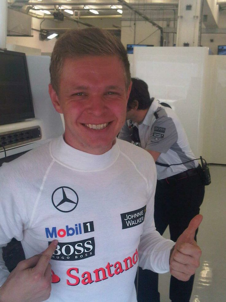 Kevin Magnussen ~he's the cutest ever okay