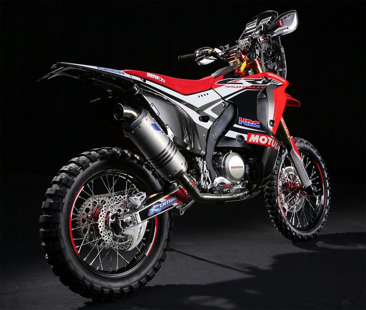 2014 Dakar: Honda CRF 450 Rally