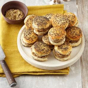 caramelized onion and gorgonzola sliders | FOOD ...