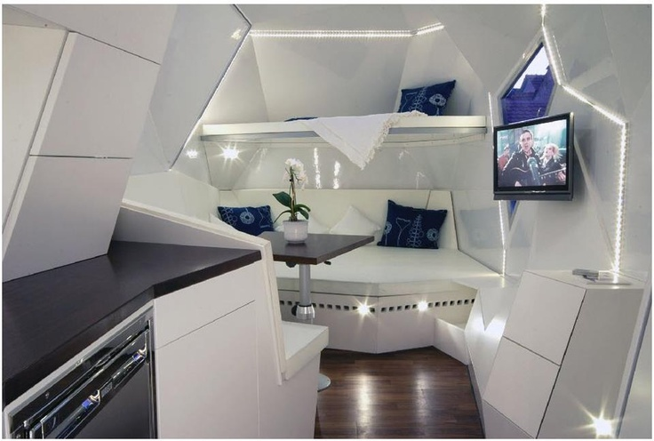 Futuristic RV Design Small Spaces Pinterest Design