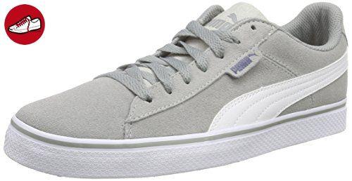Puma Puma 1948 Vulc, Unisex-Erwachsene Sneakers, Grau (limestone gray-white 01), 42 EU (8 Erwachsene UK) - Puma schuhe (*Partner-Link)