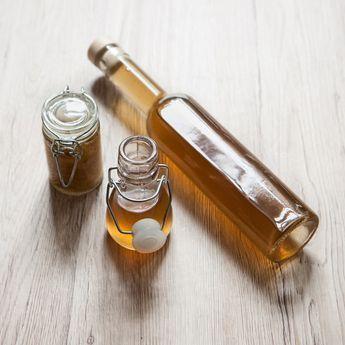 syrop imbirowy — panaceum w butelce