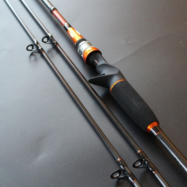 free delivery M MH Power 2 Tips 2 SEC Casting Spinning Rod Top Grade Lure Rod 2.1M Gift Fishing Rod Carbon Fishing Tackle