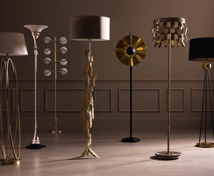 Embrace luxury floor lighting to introduce style stature and illumination from modern floor lamps to