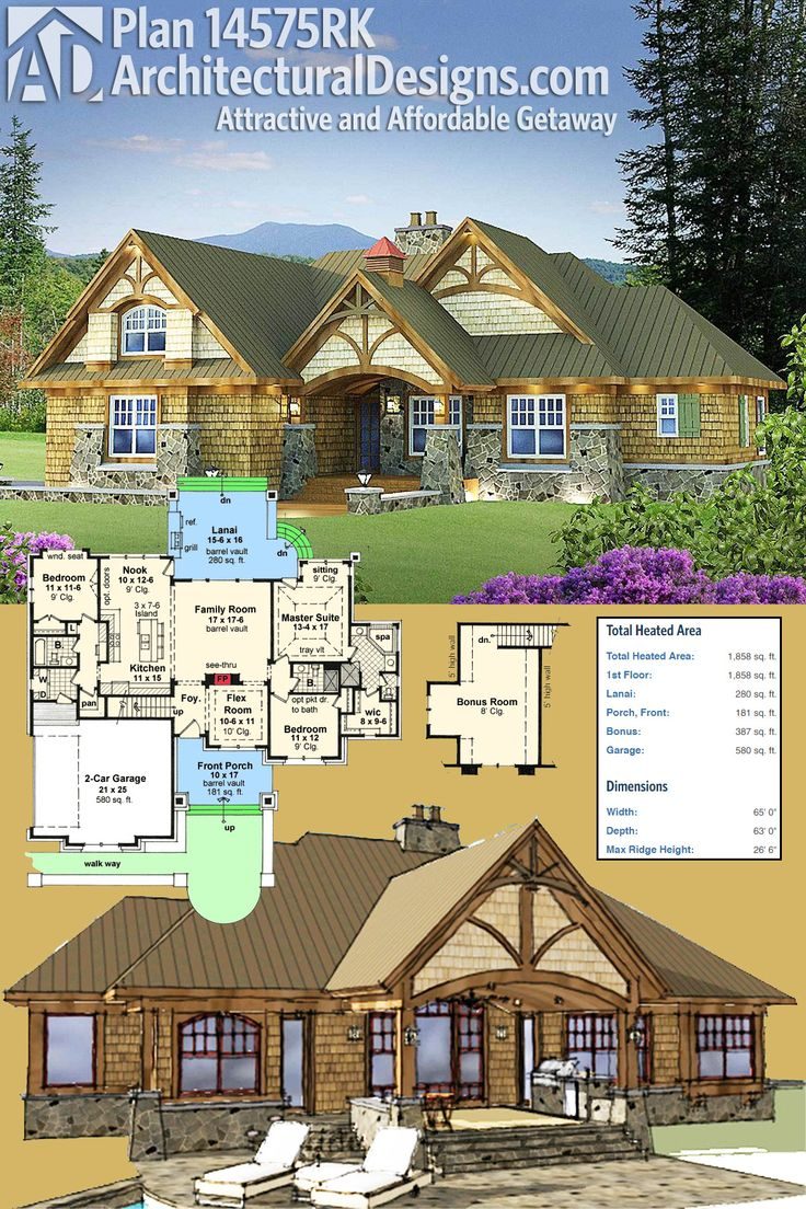 25 best ideas about craftsman house plans on pinterest for Garage expansion ideas