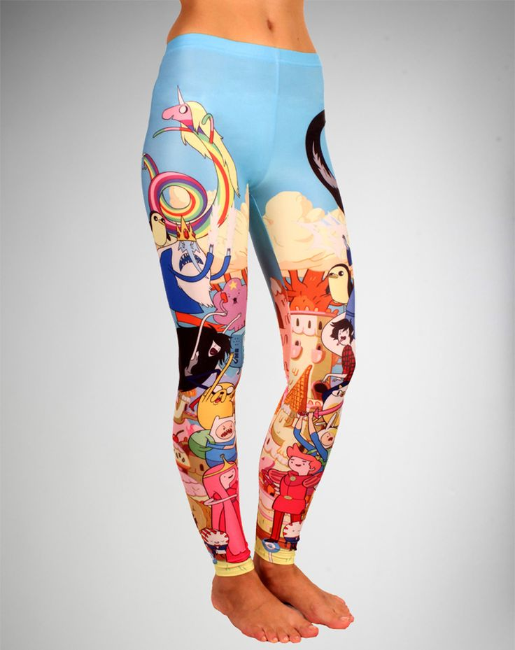 Adventure Time Group Leggings