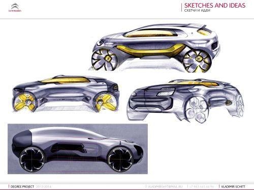 Gashetka | Transportation Design | 06.06.2014 | Citroen CanyonSUVProject|Diploma...