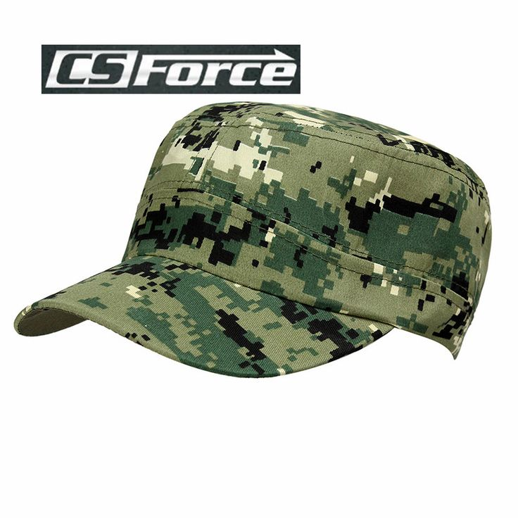 Baseball Caps Flat Cap Outdoor Snapback Paintball Hat Hunting Fishing Camping Sunhat for Adult CS Camo Hats Digital Woodland
