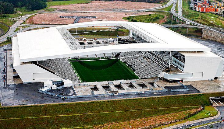 São Paulo - SP - Brsail - 26/06/2015 : ESTADIO CORINTHIANS : Aereas do novo estadio do corinthians, Arena Corinthians, Itaquerão. ( Foto Ernesto Rodrigues/Folhapress.ESPORTE). cod.0628.***FOTO REALIZADA EM 11/12/2014***