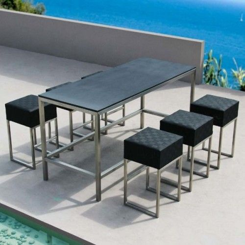 Patio High Top Table High Top Patio Table And Chairs