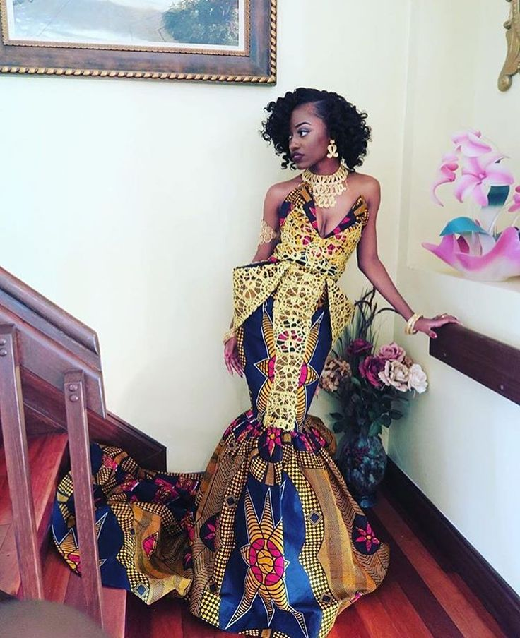 African-Inspired Prom Dresses