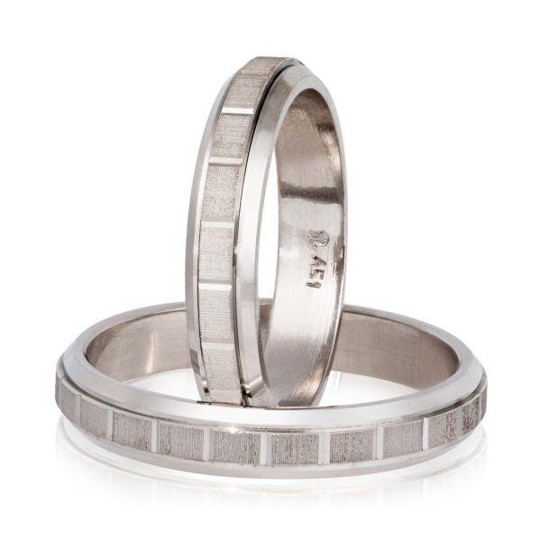 Βέρες γάμου Stergiadis  λευκόχρυσο Κ14