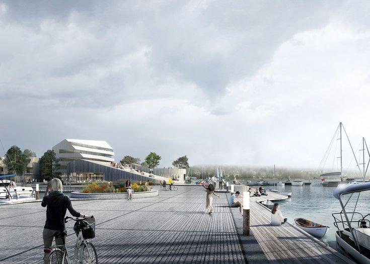 Schauman & Nordgren Architects Winning Masterplan Envisages New Harbour Front Identity