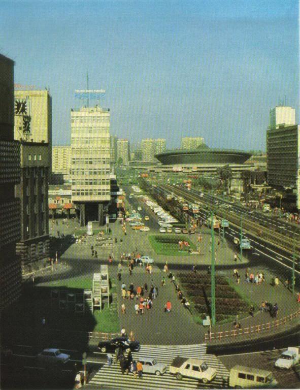 """Katowice w PRL - zdjęcie z albumu """"Katowice - Donieck"""" z 1981 / forum: http://www.skyscrapercity.com"""
