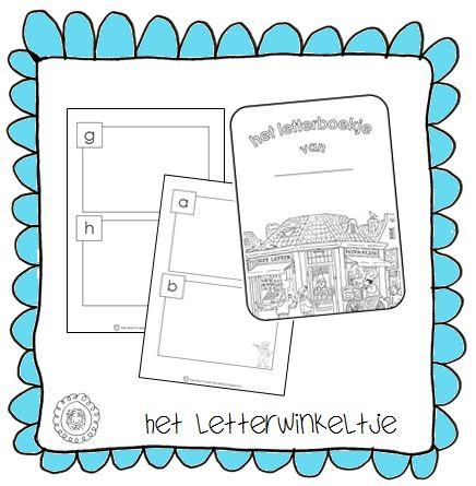 Het letterboekje om zelf te vullen | HET LETTERWINKELTJE