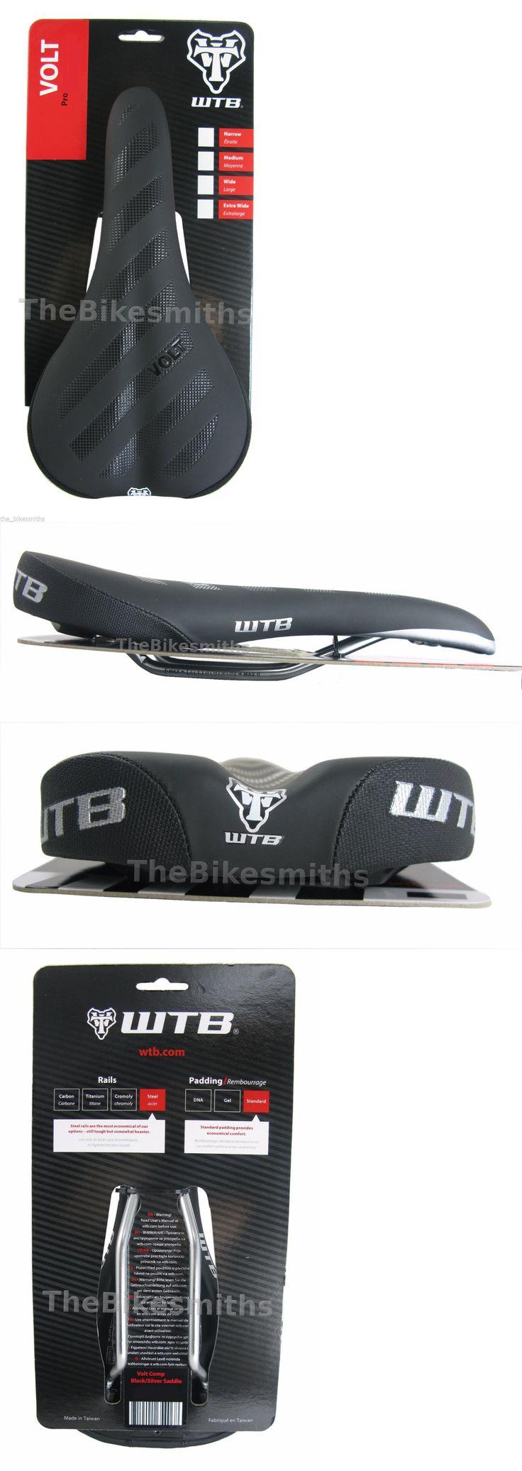 Saddles Seats 177822: Wtb Volt Comp Black Bike Saddle Unisex Seat Steel 135Mm 142Mm 150Mm -> BUY IT NOW ONLY: $35.95 on eBay!