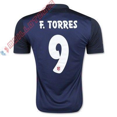Nouveau maillot de foot F.TORRES Atletico Madrid extérieur 2016 €21.99