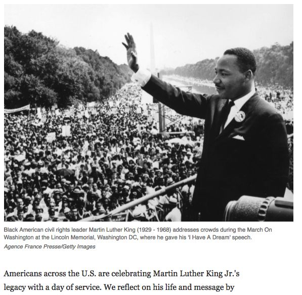 martin luther kings reaction on affirmative action Mlk's content of character quote inspires debate civil rights leader martin luther king jr (c) considering race as a factor in affirmative action keeps the wounds of slavery and jim crow sore and festering.