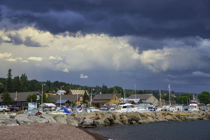 """Another classic summer destination, Grand Marais isnestled close to the Sawtooth Mountains and Lake Superior. However, plenty call this lovely town """"home"""" year-round,from artists to otters. Grand Marais has also been inspiring young creatives to settle down, resulting in a boom of interesting shops, restaurants and businesses."""
