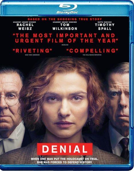 Отрицание / Denial (2016/BDRip/HDRip)  Признанный писатель и историк Дэбора Е. Липштадт должна отстоять право на историческую правду, доказывающую, что Холокост был, в ответ на обвинения в клевете известного отрицателя Холокоста Дэвида Ирвинга.