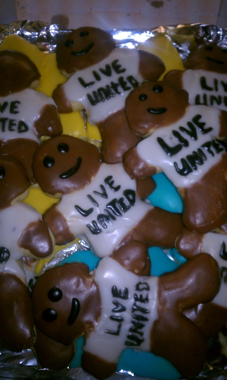 united way gingerbread men what a cute idea