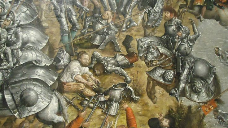 Artist: attributed to Krell, Hans, Title: The Battle of Orsha, Detail, Date: 1525–1535
