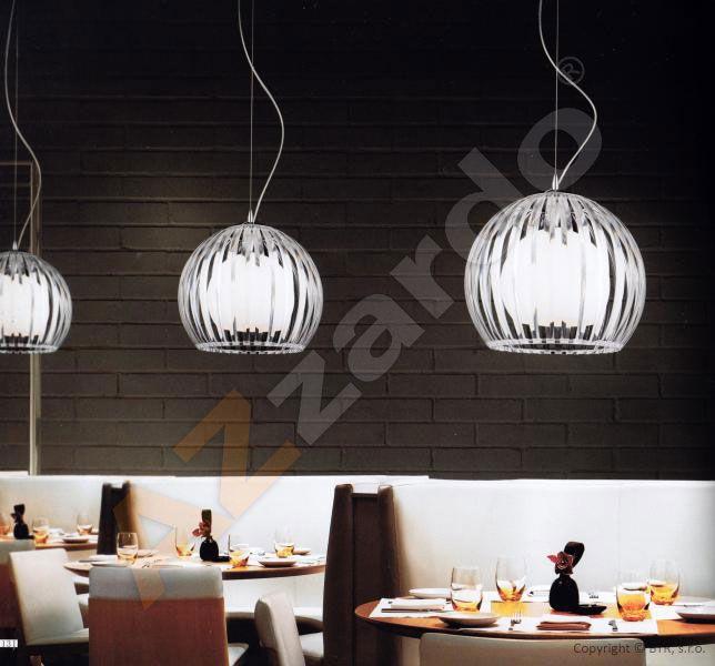 AZZARDO lampa wisząca Arcada M Clear MD2106-1C