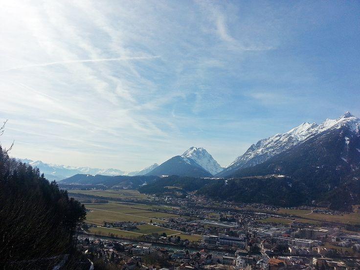 Ausblick von der Burg Freundsberg, Schwaz/Tirol
