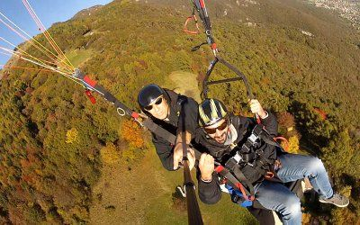 Paragliding Veneto Experience. Yes. You will jump off a plane in Italy!