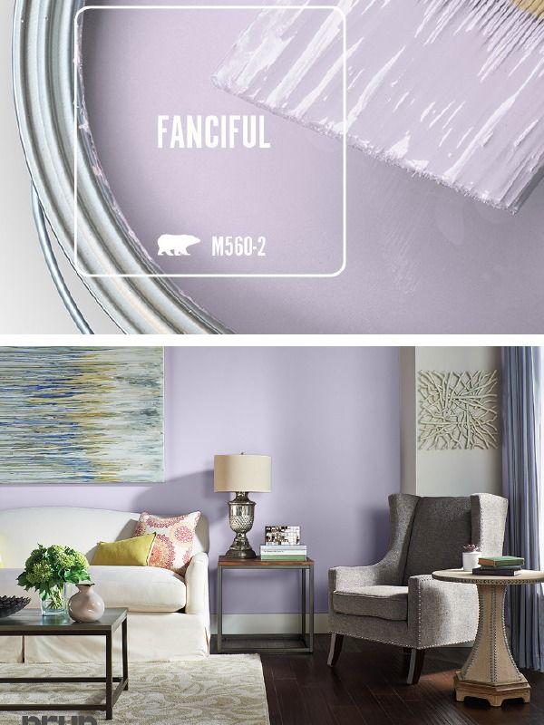 Light Purple Hue Of Fanciful