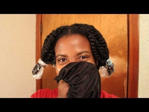 Natural Hair | The Baggy Method....This will stop your natural hair from being dry especially your ends!
