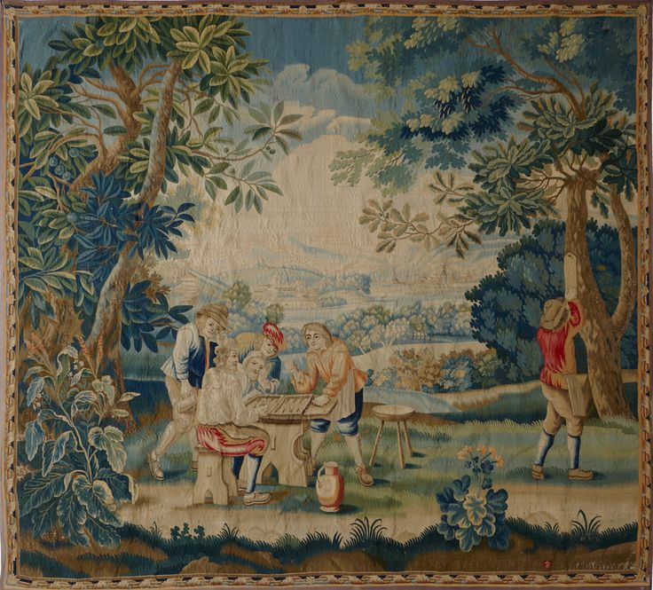 Matt Camron Rugs & Tapestries - Tapestries - Antique Tapestry - 14997HM
