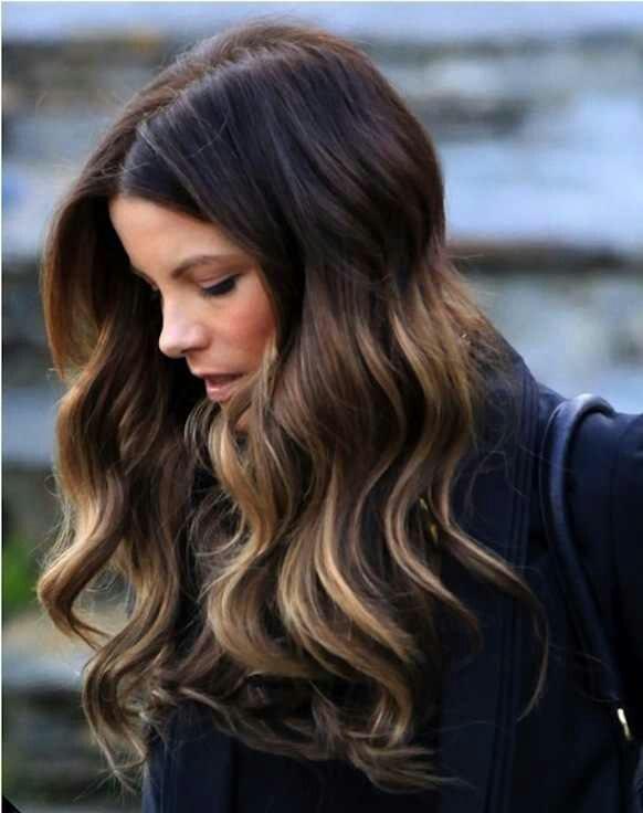 Dark Hair Color Ombre